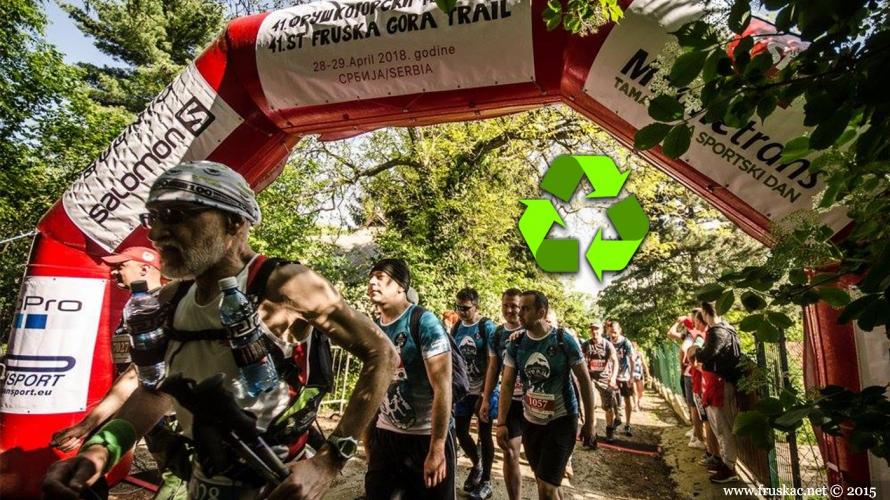 News - Na 42. Fruškogorskom maratonu prvi put recikliramo