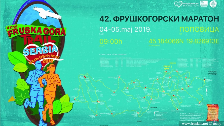 News - 42. planinarski maraton na Fruškoj gori