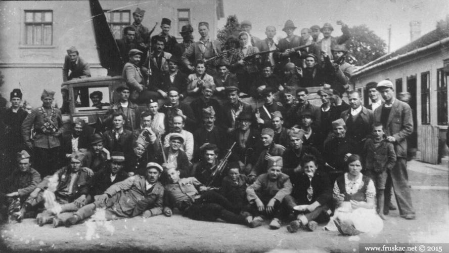 History - Fruškogorski partizanski odred - gerila na sremski način