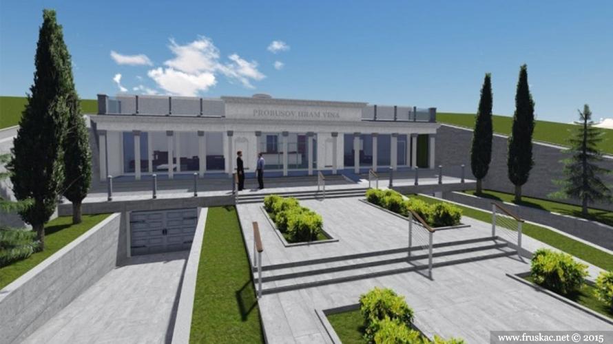 News - Nektar Marka Aurelija Proba dobija svoj fruškogorski hram