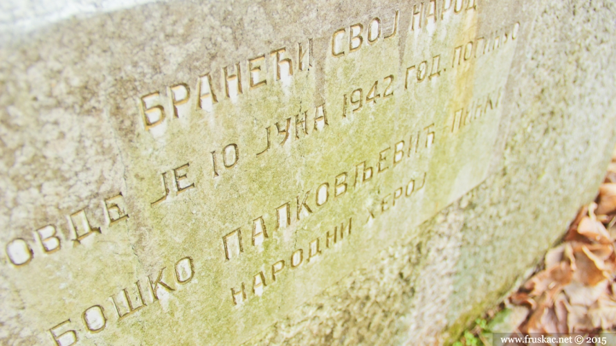Monuments - Pinkijev grob