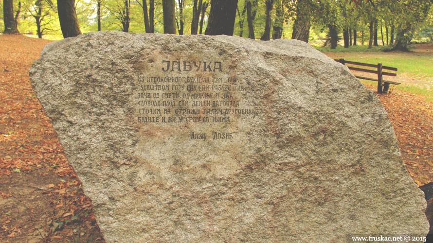 Monuments - Spomen-obeležje Jabuka