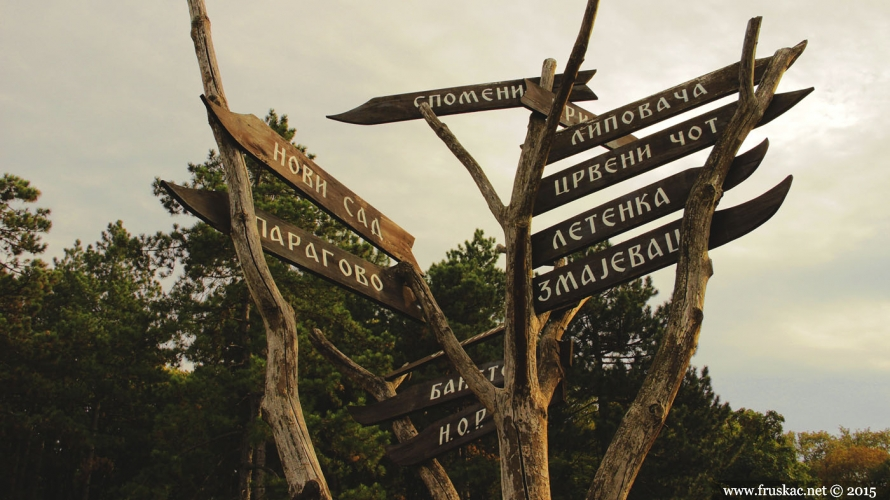 Picnic Areas - Iriški Venac Picnic Area